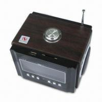 Wholesale SD/USB Stereo Mini Speaker with FM Function and Rechargeable Battery from china suppliers