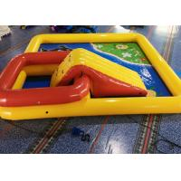 Quality 6 * 6 * 0.65M Inflatable Swimming Pool / Large Inflatable Pool Toys For Kids for sale