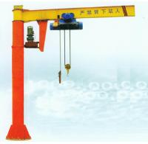 China Good lubrication system mobile jib crane equipment on sale