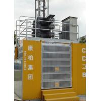 China Modular Temporary Passenger Elevators , Building Site Rack And Pinion Elevator for sale