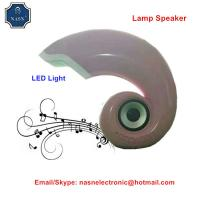 China Fashion design Led light speaker electric speaker with cellphone charger function made in China for sale