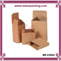 Wholesale Custom small brown kraft paper packaging empty box ME-CD042 from china suppliers