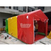 Wholesale Small Custom Fireproof PVC Inflatable Shower Tent For Amusement Park from china suppliers