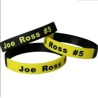 mult color silicone wristbands for sale