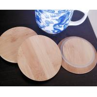 Wholesale bamboo lid 4 inch natural bamboo cover lid for candle glass jar from china suppliers