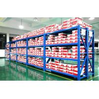 Wholesale 75mm Adjusted Storage Medium Duty Racking Metal Shelving 100 - 500 KG / Level from china suppliers