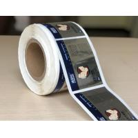 Wholesale Custom Printed Chrome Bopp Labels , Adhesive Material Bopp Sticker from china suppliers