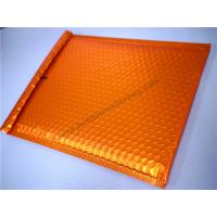 China Orange Bubble Mailer Bag Small Bubble Mailers 35x330mm #H Heat Insulation on sale