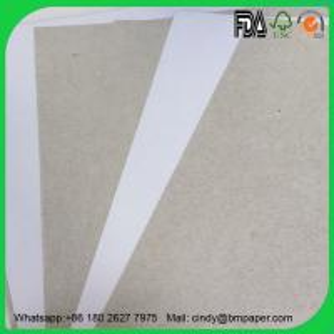 China 2017 New 250gram 300gram 350gram Duplex board with white back on sale