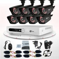 Wholesale Commercial 8 Channel DVR Surveillance System Wireless IP Camera CCTV KIT from china suppliers