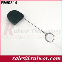 Wholesale 2.8x2.8x0.8Cm Box Ipad Retractable Security Cable With Demountable Key Ring from china suppliers