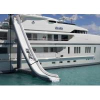 Buy cheap Customized PVC Tarpaulin Airtight Water Slide Inflatable Yacht 2 Years Warranty from wholesalers