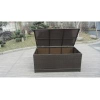 Wholesale Waterproof Decorative KD Resin Wicker Storage Box For Storeroom from china suppliers