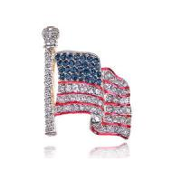 Wholesale Decorative Fashionable National Flag Costume Brooch Trendy Fashion Jewelry from china suppliers