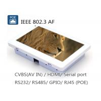 Wholesale 7 Inch IEEE802.3af POE Touch Panel PC With RJ45 RS485 RS232 Camera from china suppliers