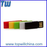 Buy cheap Colorful Clip Usb Drive 4GB Office Storage Free Logo Printing Company Gift from Wholesalers
