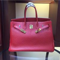 China women high quality 35cm red famous brand handbags TOGO leather bags hanbags fashion bags L-RB2-5 on sale