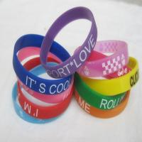 Promotional Silicon Wristband/Silicone Bracelet for sale