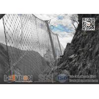 Wholesale Passive SNS Rockfall Mesh Fencing System | China Rockfall Catch Barrier Factory from china suppliers