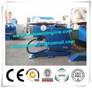 1T advanced Small Welding Positioner equipment , Turntable Weld Manipulator CE