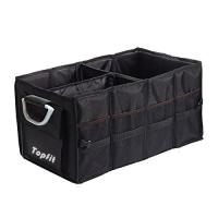Wholesale Topfit Folding Trunk Organizer Box, Durable Collapsible Cargo Storage For Car, SUV, Van from china suppliers