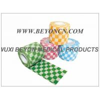 Wholesale Medical Grade Self - Adherent Cohesive Flexible Bandage Printed Cohesive Wraps from china suppliers