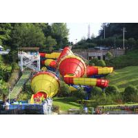 Wholesale Huge Fiberglass Water Slides Tantrum Valley For Teenagers / Water Park Equipment from china suppliers