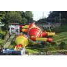 Buy cheap Huge Fiberglass Water Slides Tantrum Valley For Teenagers / Water Park Equipment from wholesalers