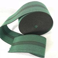 Wholesale Durable Synthetic Rubber Elastic Webbing For Sofa In Green Color 6cm 460B# from china suppliers