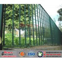 Quality Painted Carbon Steel Grating Fence for sale