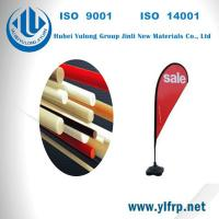 Buy cheap Pultrusion Fiber Glass Polyester Plastic Tent Pole, Beach Camping Pole, Flag from wholesalers