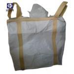 China Aluminium Ore Packaging Jumbo Bulk Bags 1000KG 1500KG Virgin Polypropylene White Color for sale