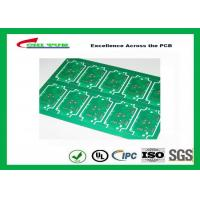 Wholesale RoHS Single Layer Custom Printed Circuit Board  FR4 Lead Free HASL IPC Standard from china suppliers