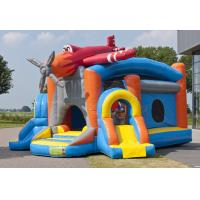Wholesale Plane Ballcanon Durable PVC Inflatable Combo Bounce House Customized from china suppliers