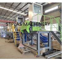 Economic high capacity PET Recycling Machine Hot PET Bottle Flakes Washing Line for sale
