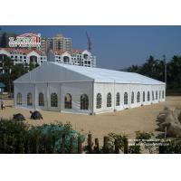 Wind Resistant Outdoor White Aluminum Wedding Canopy For Wedding Reception 20 X 25  Tent for sale