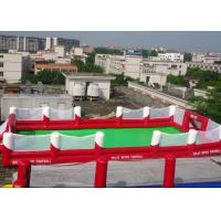 Wholesale Inflatable Football Game Sports Equipment With 0.45mm - 0.55mm PVC For Children Adult from china suppliers