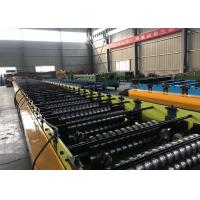 Wholesale Steel Sheet Floor Deck Tile Roll Forming Machine / Metal Deck Roll Forming Machine from china suppliers