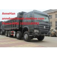 Wholesale Heavy Load Dump Truck 8X4 With 420 HP Engine 60 Tons Green Color For Army Using from china suppliers