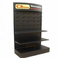 Wholesale Big Retail 3 Tier Floor Display Stands Black Available For Commodity Promotion from china suppliers