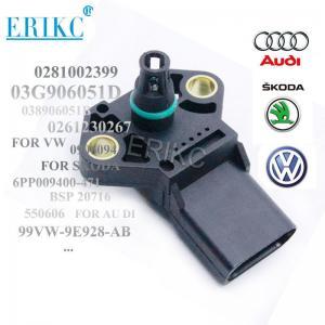 China ERIKC autoparts 0281002399 car MAP Manifold Absolute intake Pressure Sensor 038906051B 0281002401 on sale