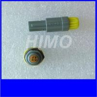 China self-locking 2pin Medical Plastic Circular Connectors Lemo Redel 1P Size Plug And Socket for sale