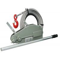 China 4 T Manual Cable Pulling Winch Machine / Tirfor Winch With 20M Wire Rope on sale
