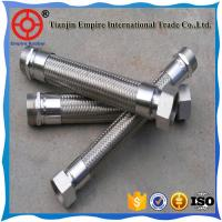 Wholesale ISO manufacturer 3/8  inch steel mesh reinforced corrugated Metal conduit hose from china suppliers