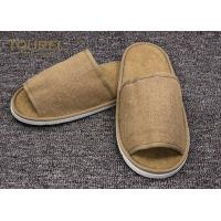 Wholesale Disposable Close Toe Hotel Room Slippers / Disposable Travel Slippers from china suppliers