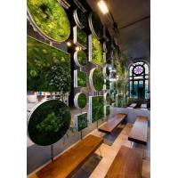Wholesale HOT SALE Indoor Walls decoration Artificial Plant Wall building landscaping green wall dec from china suppliers