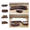 wicker/rattan/outdoor set furniture E-511 for sale