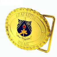 Wholesale 3D Design Custom Promotional Gifts Personalized Gold Custom Steel Belt Clamp With Teeth from china suppliers