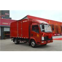Wholesale 4.2m Van Truck Cab Flatbed Dump Truck 3 SETS Horse Power 109 HP RED COLOR from china suppliers