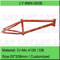 Double Butted Cr-Mo BMX Bike Frame for sale